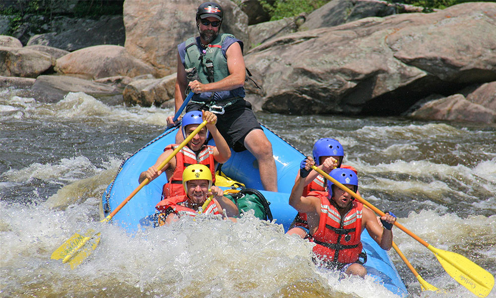 Adirondack Adventures white water rafting