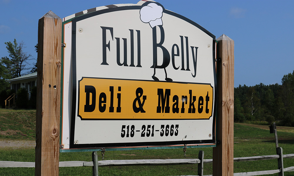 Full Belly Deli in Wevertown, New York