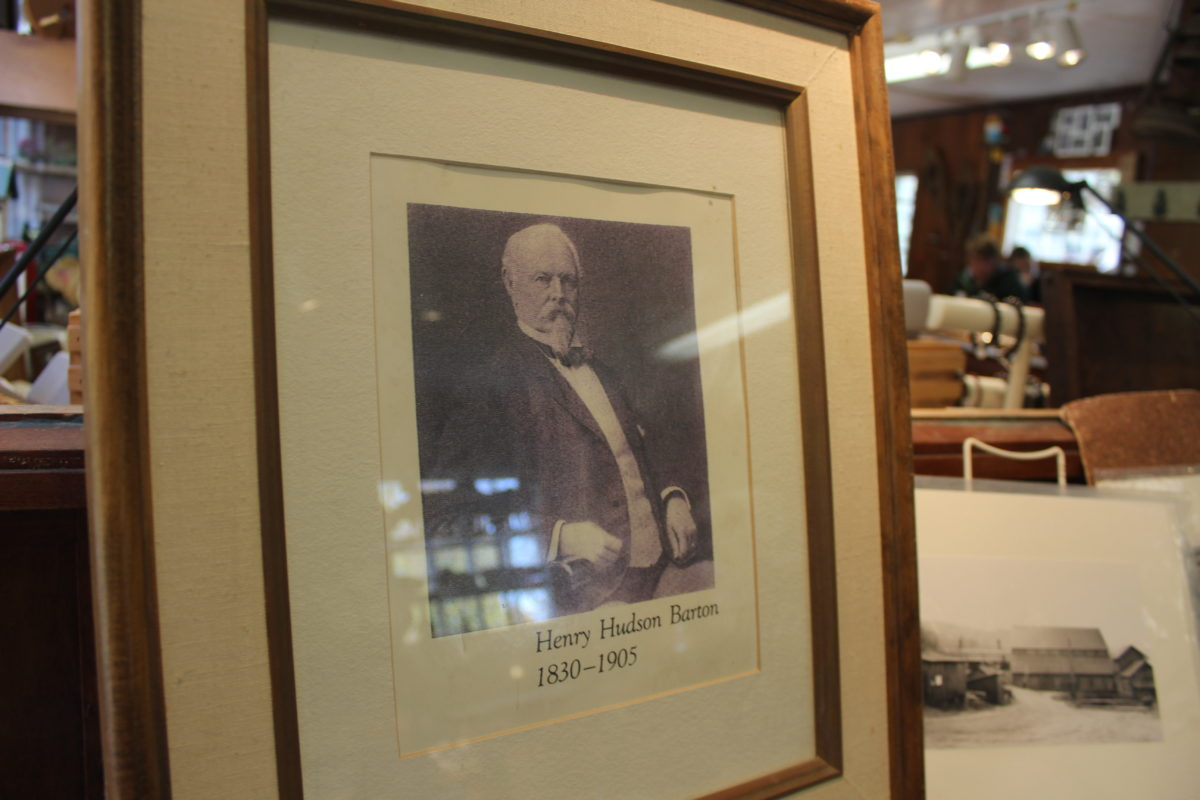 Photo of Henry Hudson Barton who founded Barton Mines