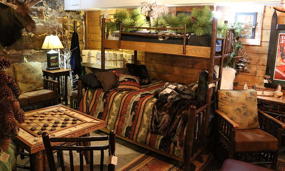 Rustic furniture Hudson River Trading Company