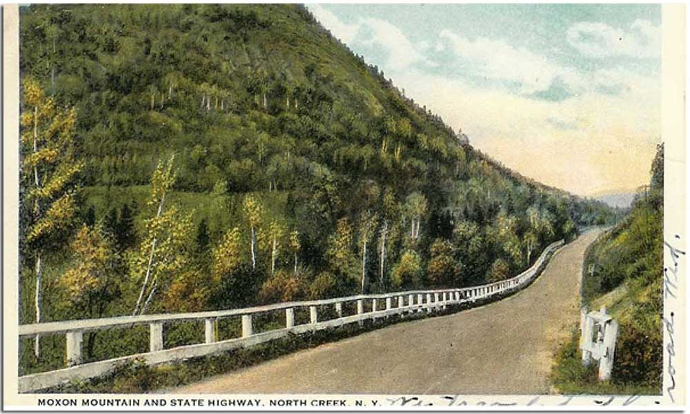Johnsburg Historical Society - Moxon Mountain in the Gore Mountain Region