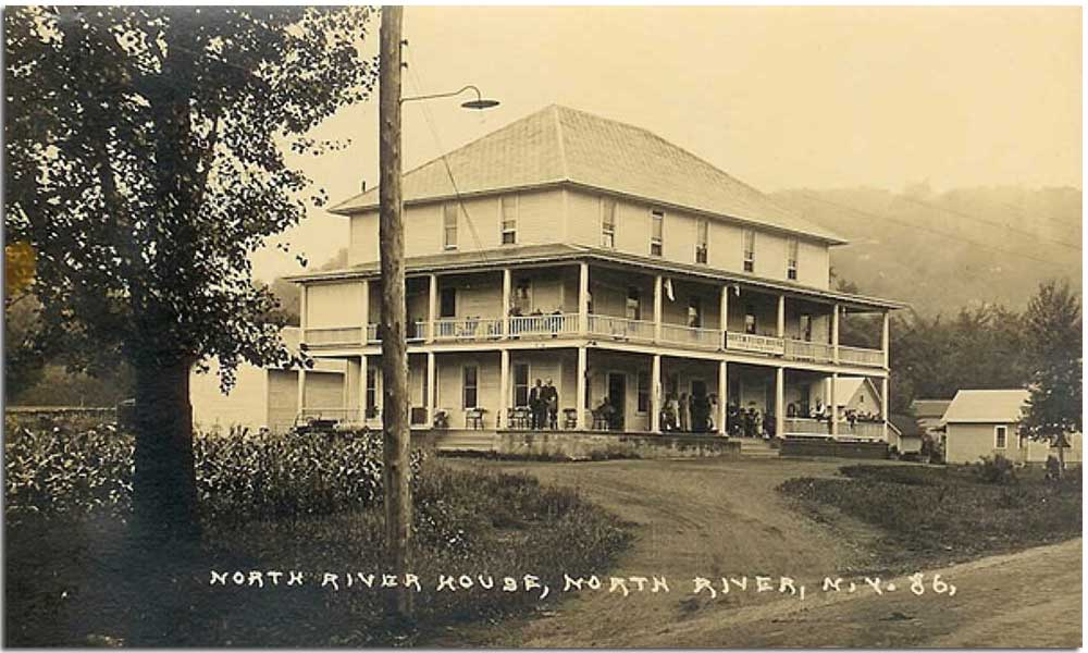 House in North River, NY from Johnsburg Historical Society