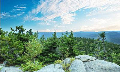 View from Crane Mountain Summit
