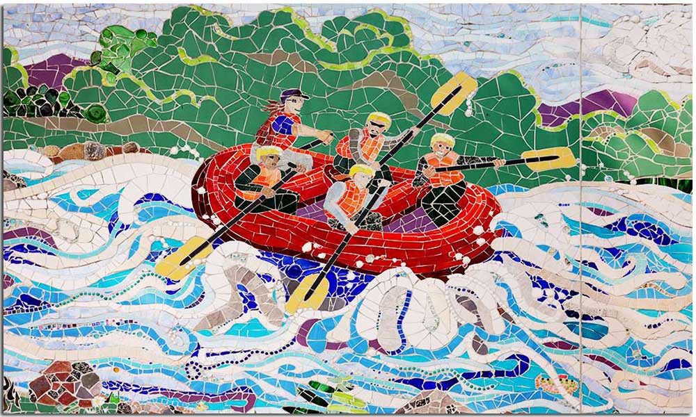 North Creek Mosaic Project - rafting