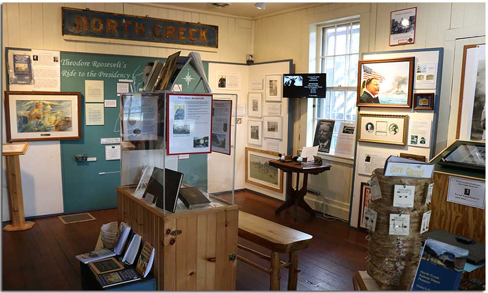 North Creek Depot Museum - Teddy Roosevelt Exhibit
