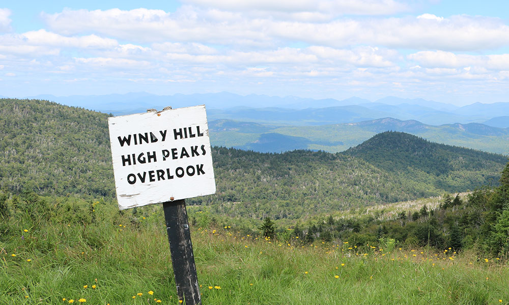 Windy Hill High Peaks Overlook