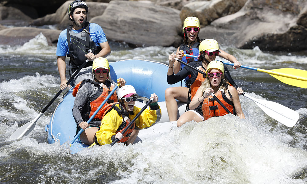 Hudson River rafting with Square Eddy Expeditions