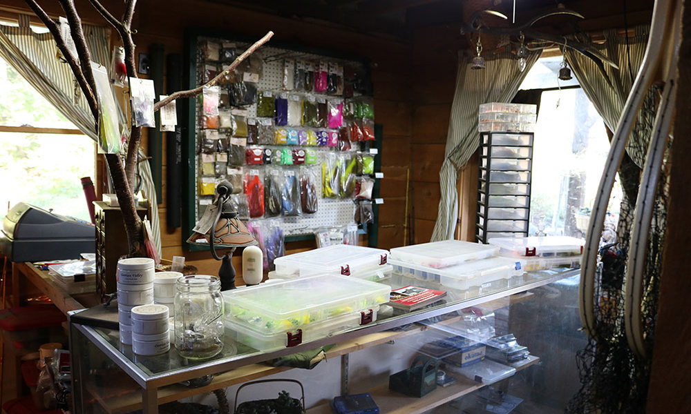 Fishing supplies Streamside Fly Shop