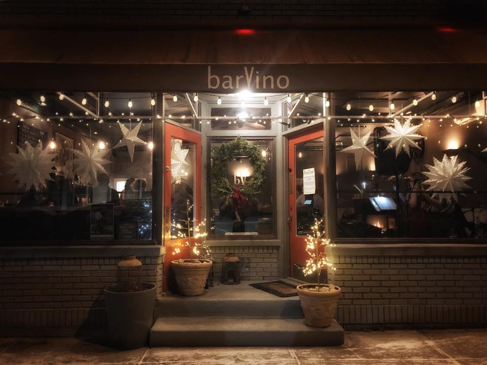 Front of barVino in North Creek