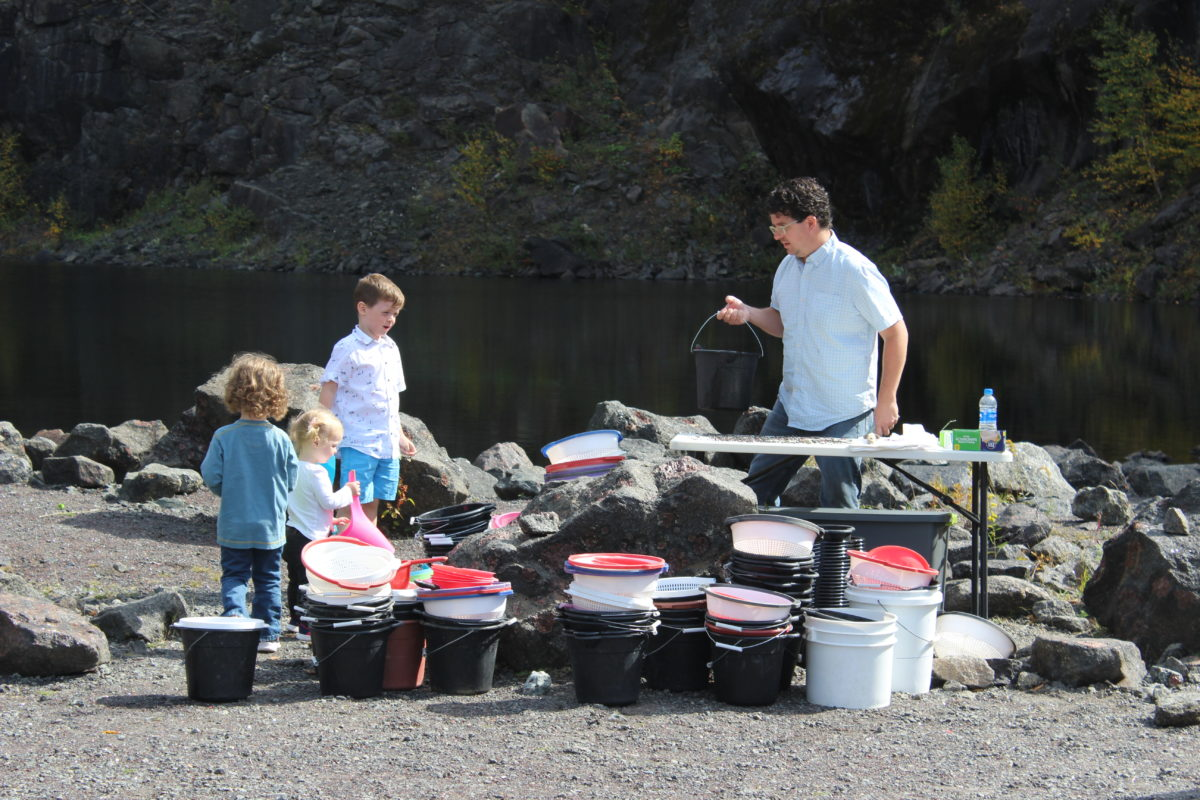 Mining for garnet is a family-friendly activity at Barton Garnet Mines